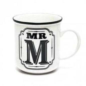 Alphabet Mugs - Mr M
