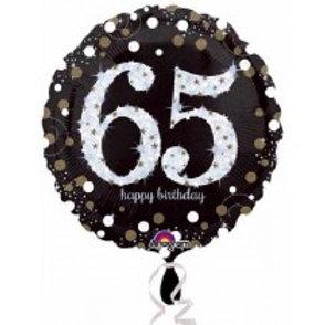 65th Birthday Foil Balloon