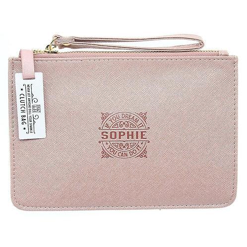 Personalised Clutch Bag - Sophie