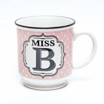 Alphabet Mugs - Miss B