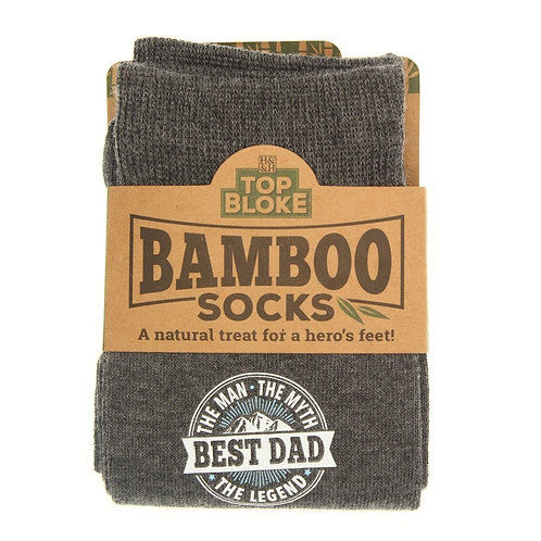 Personalised Bamboo Socks - Best Dad