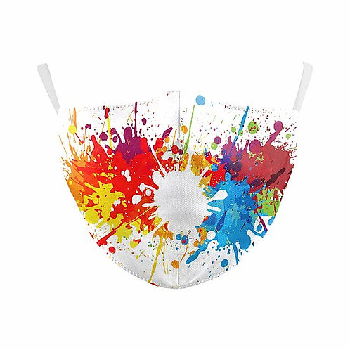 Paint Splash Reusable Face Mask