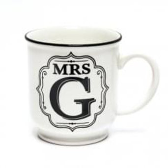 Alphabet Mugs - Mrs G