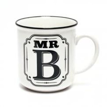 Alphabet Mugs - Mr B