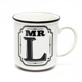 Alphabet Mugs - Mr L