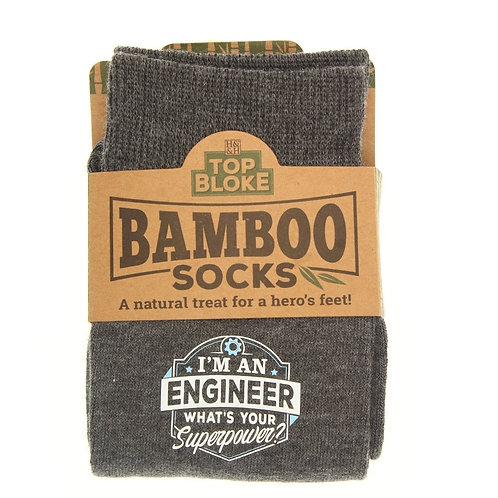 Personalised Bamboo Socks - Engineer
