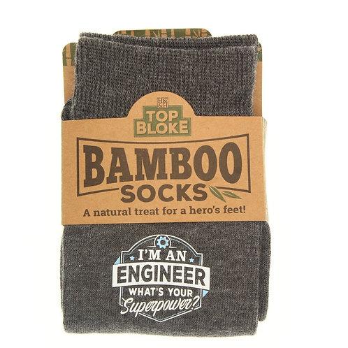 Personalised Bamboo Socks - Engineer