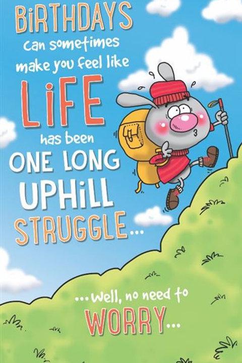 Just a Laugh - Uphill Struggle