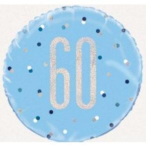60th Birthday Foil Balloon