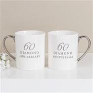 China Anniversary Mugs