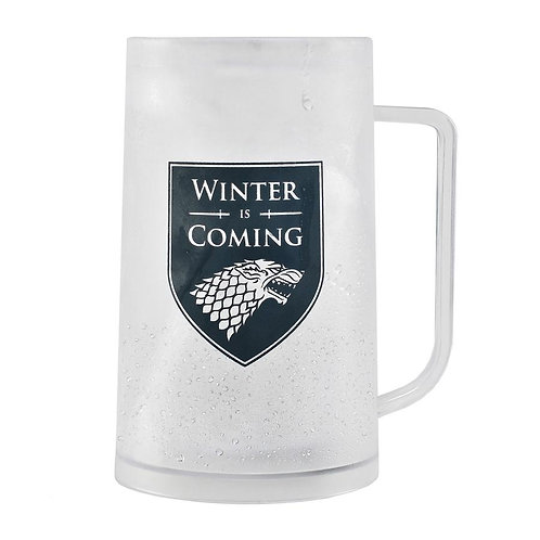 Game of Thrones Freezer Tankard - Stark (Winter Is Coming)