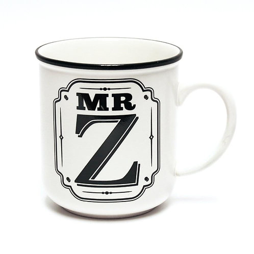 Alphabet Mugs - Mr Z