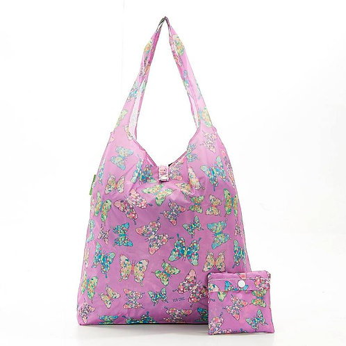Lilac Butterfly Shopper