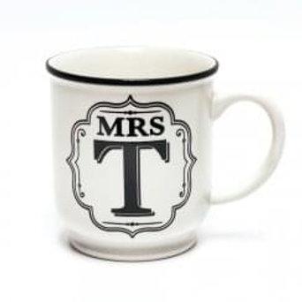 Alphabet Mugs - Mrs T