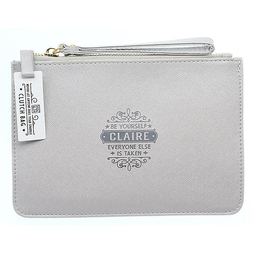 Personalised Clutch Bag - Claire