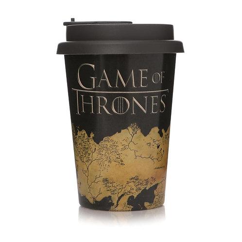 Game of Thrones Huskup Travel Mug - Westeros Map