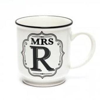 Alphabet Mugs - Mrs R