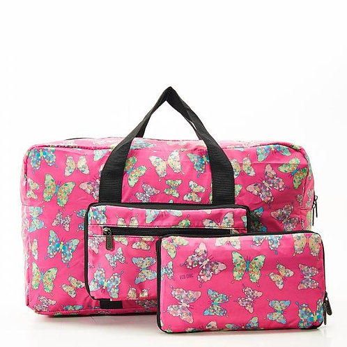 Fuchsia Butterfly Holdall