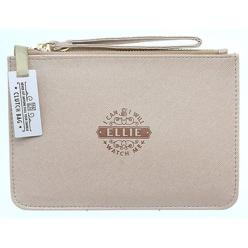 Personalised Clutch Bag - Ellie