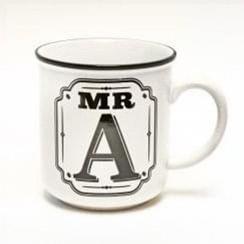 Alphabet Mugs - Mr A