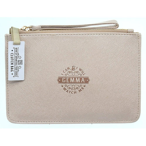 Personalised Clutch Bag - Gemma