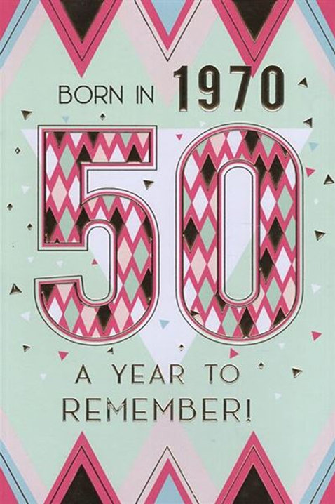 IC&G 50th Female Year You Were Born