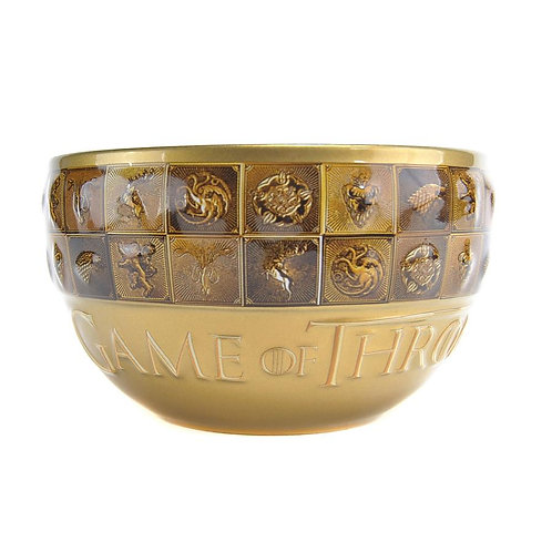 Game of Thrones Bowl - Golden Sigils