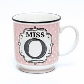 Alphabet Mugs - Miss O