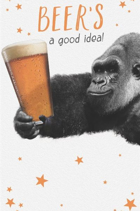 Just a Laugh - Beer's Gorilla