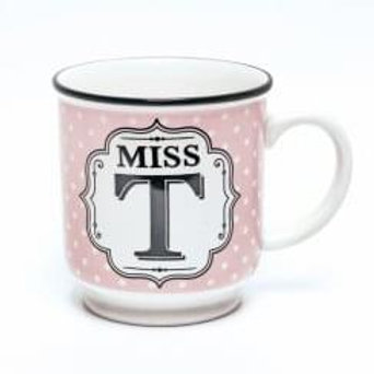 Alphabet Mugs - Mrs T