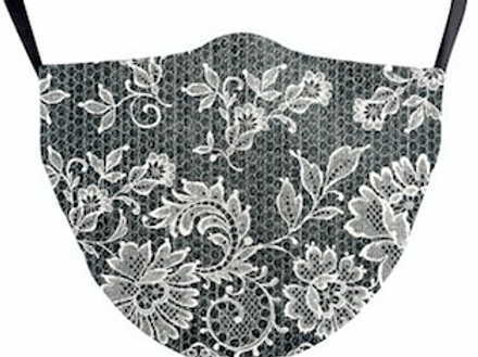 Paisley Grey Reusable Face Mask