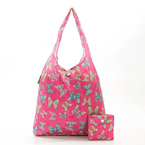 Fuchsia Butterfly Shopper