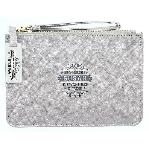 Personalised Clutch Bag - Susan