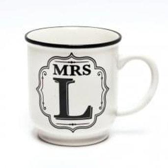 Alphabet Mugs - Mrs L
