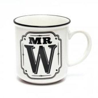 Alphabet Mugs - Mr W