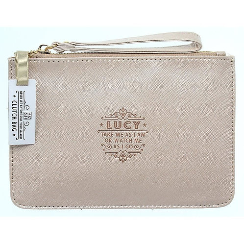 Personalised Clutch Bag - Lucy