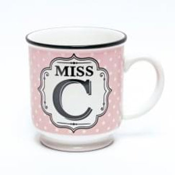Alphabet Mugs - Miss C
