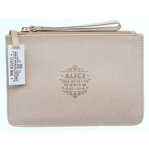 Personalised Clutch Bag - Alice