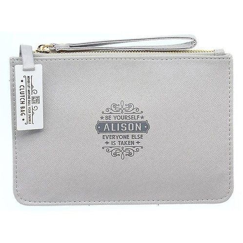Personalised Clutch Bag - Alison
