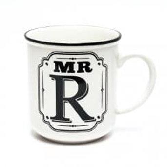 Alphabet Mugs - Mr R