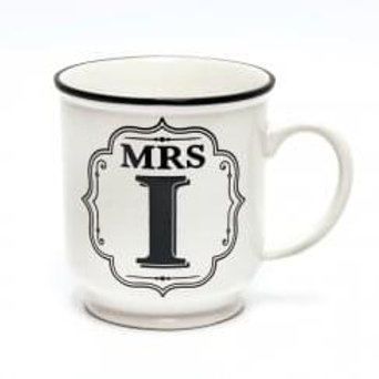 Alphabet Mugs - Mrs I