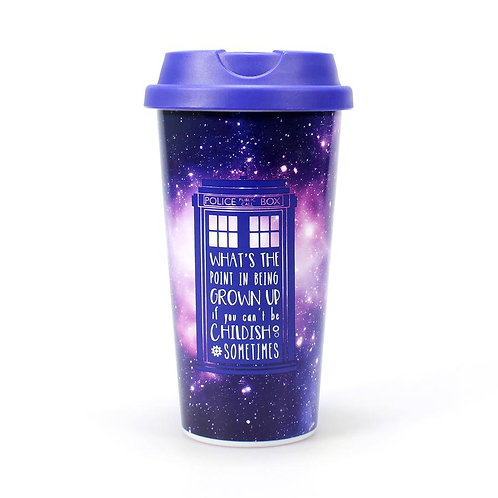 Doctor Who Travel Mug - Galaxy