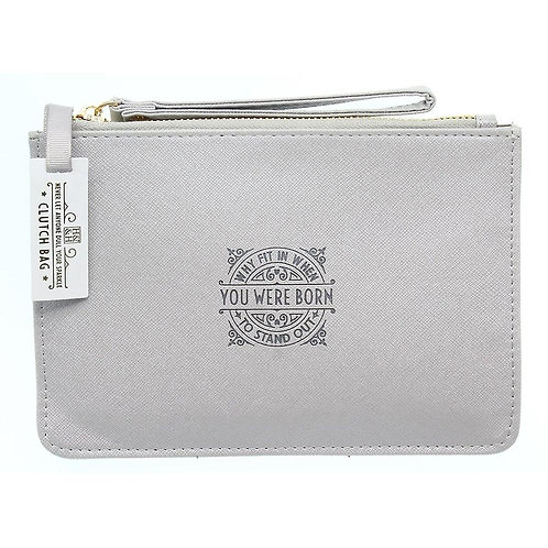 Personalised Clutch Bag - Why Fit In