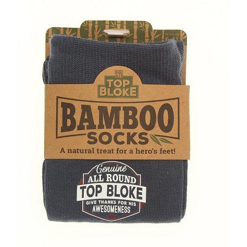 Personalised Bamboo Socks - Top Bloke