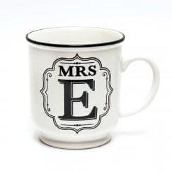 Alphabet Mugs - Mrs E