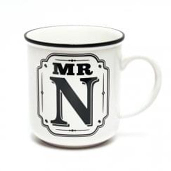 Alphabet Mugs - Mr N