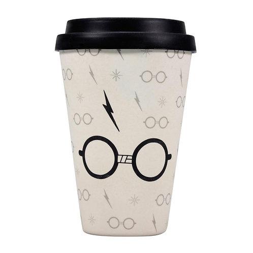 Harry Potter Bamboo Travel Mug - Harry Potter (Lightning Bolt)