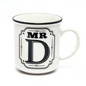 Alphabet Mugs - Mr D