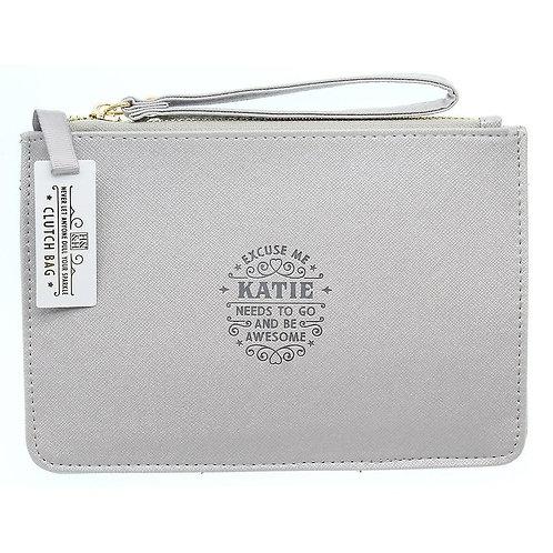 Personalised Clutch Bag - Katie