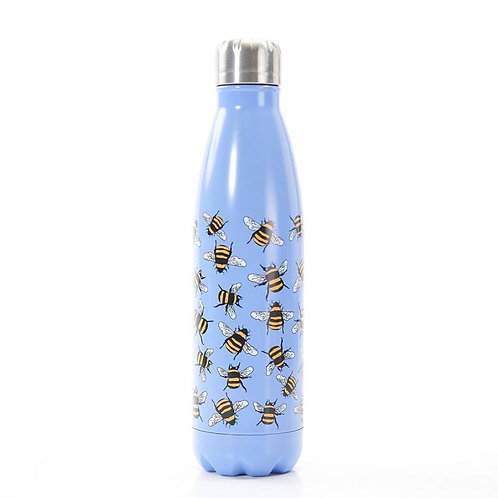 Blue Bees Thermal Bottle